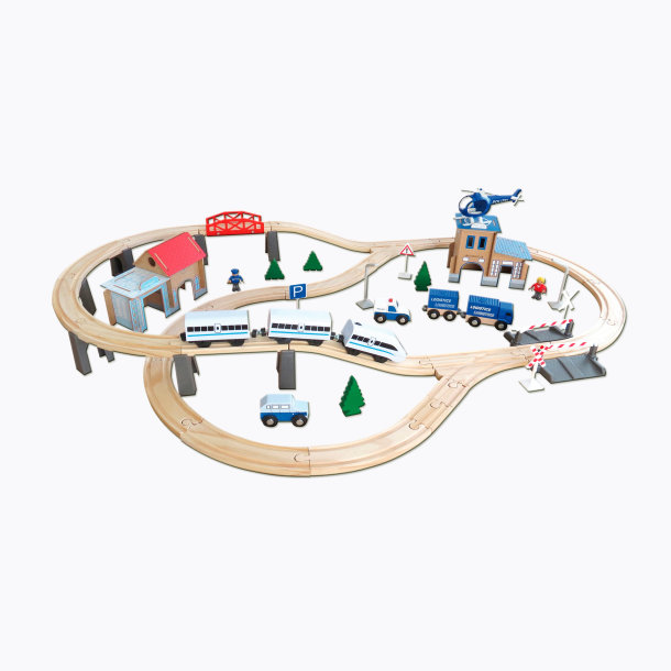 Holzeisenbahn Aldi Kompatibel