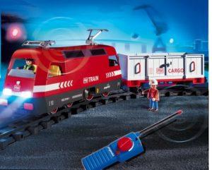 Hersteller von Eisenbahnen für Kleinkinder - Playmobil