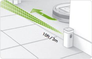 iRobot Dual Virtual Wall Doppelpack Halo Mode Durchmesser