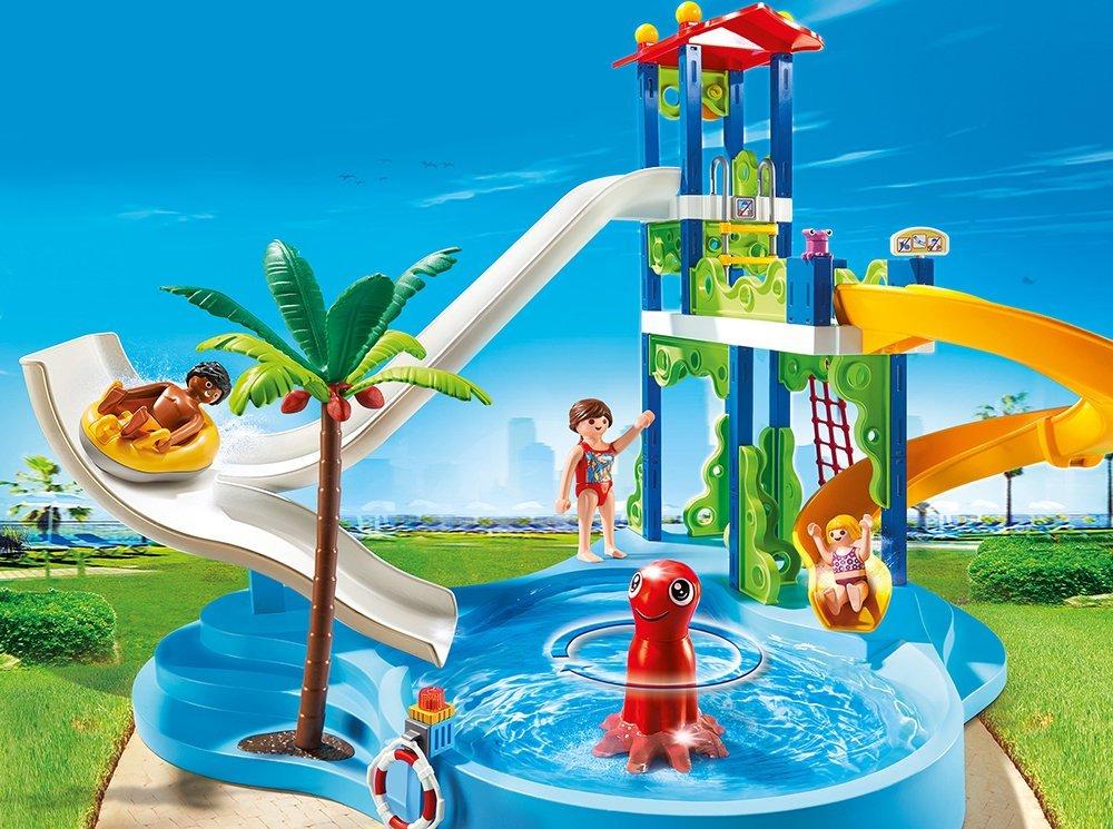 Playmobil 6669 Preisvergleich Aquapark mit Rutschentower
