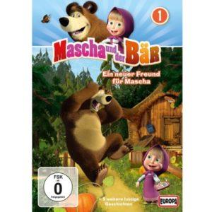 Mascha und der Bär Vol 1 DVD