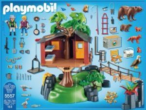 Playmobil 5557 Das Baumhaus EAN 4008789055576 Inhalt