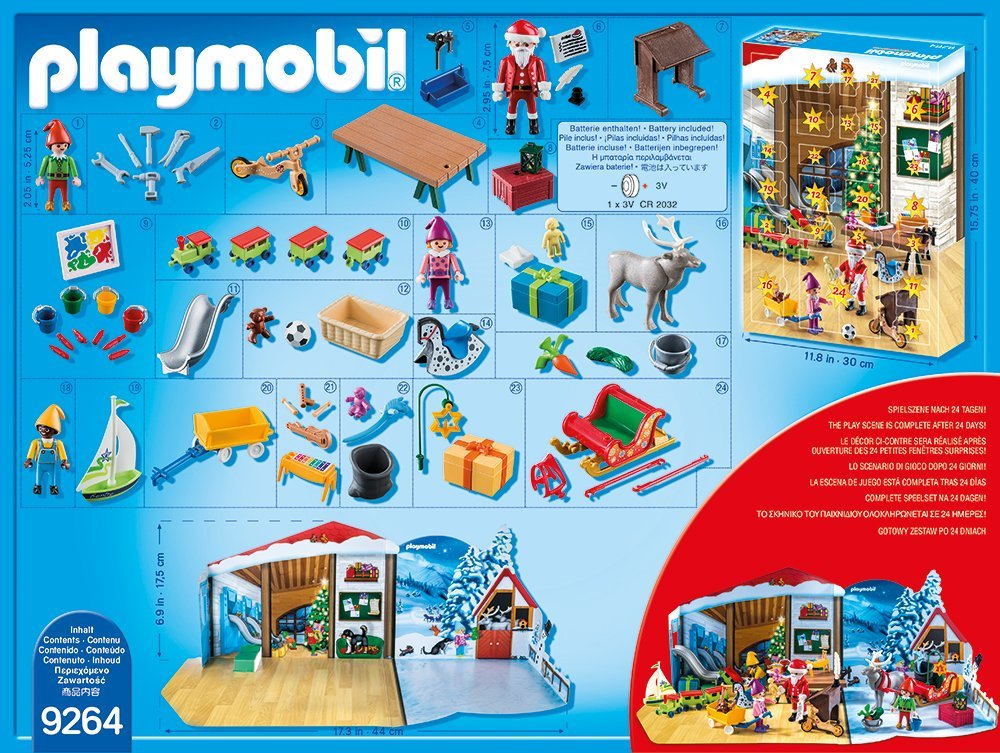 Playmobil 9264 Adventskalender 2017 Inhalt