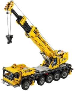 LEGO Technic 42009 gelber Schwerlastkran ab 11 Jahren