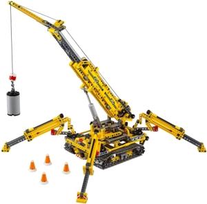 LEGO Technic 42097 gelber Spinnenkran ab 10 Jahren
