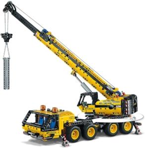 LEGO Technic 42108 gelber Kran-LKW ab 10 Jahren