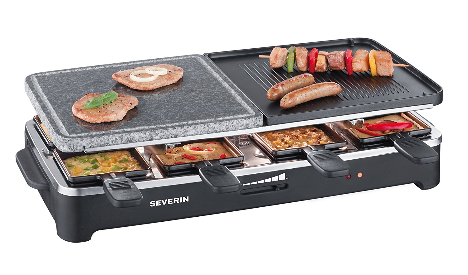 Severin RG 2341 Raclette Test