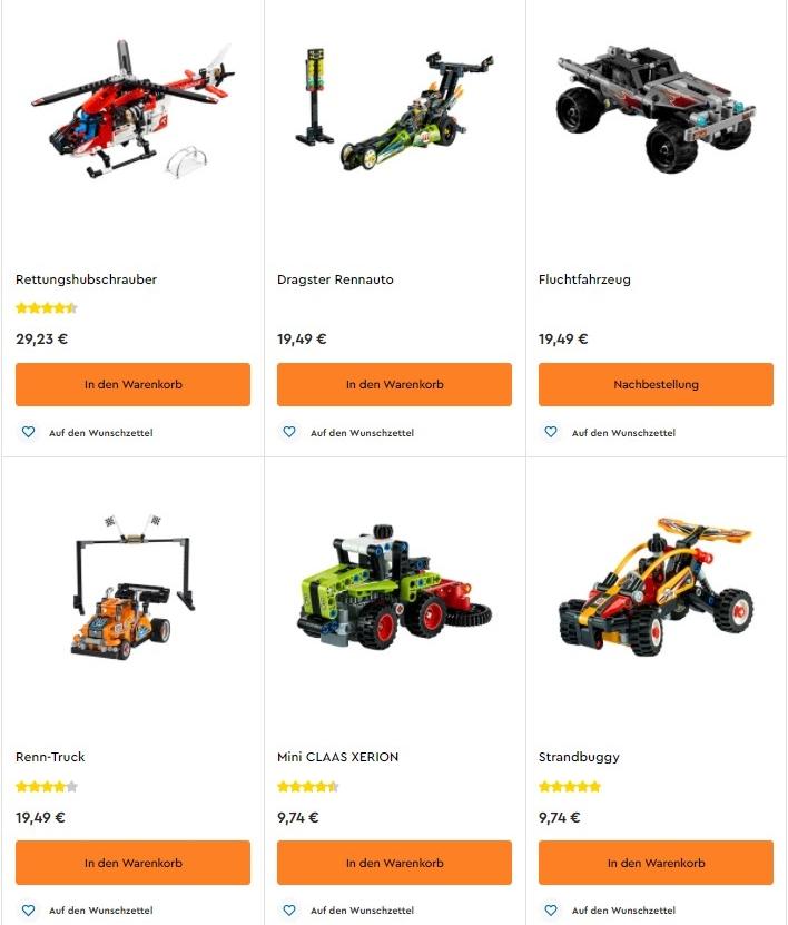 Welche Lego Technic Bausätze eignen sich für Anfänger?