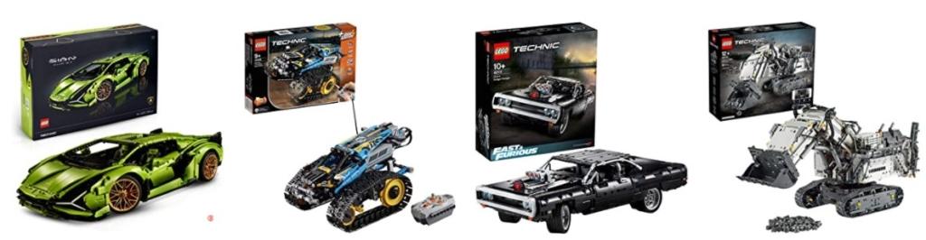 Lego Technic Bestseller - mehr als 10 beliebte Technic Sets für Lego Fans