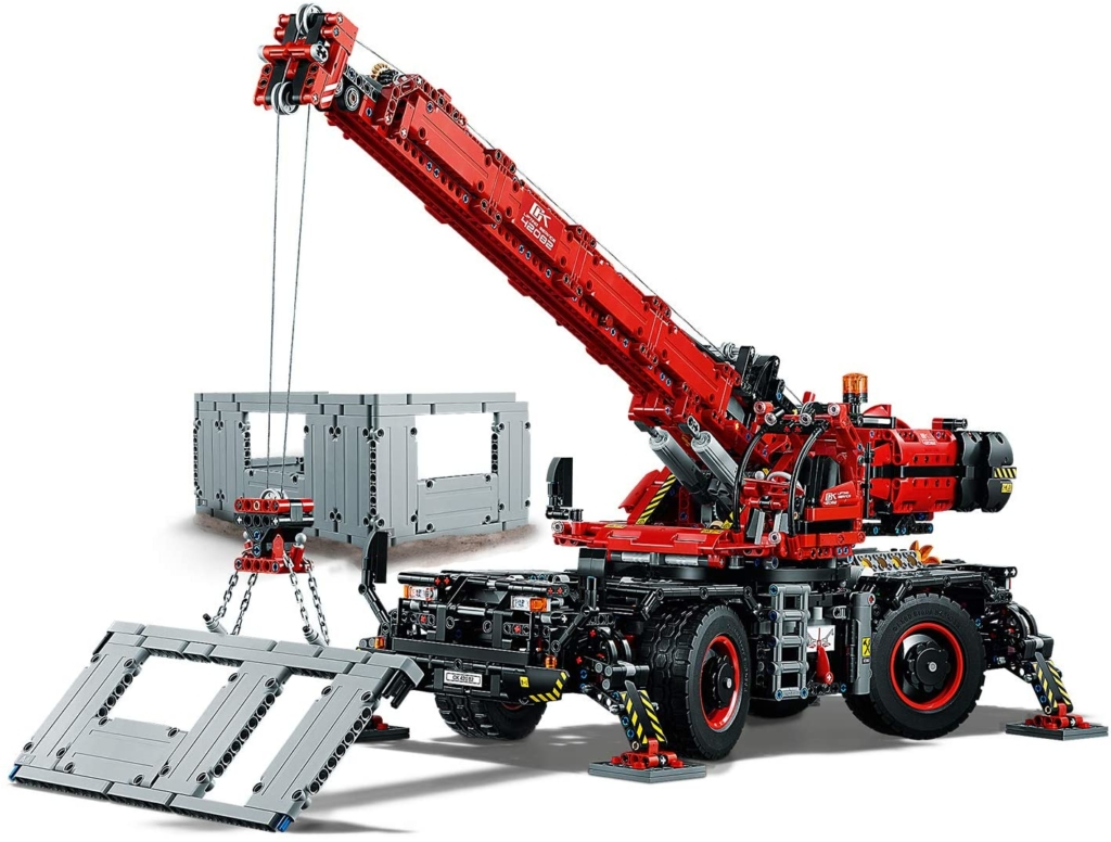 Lego Technic Kran LKWs