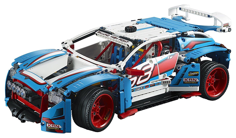 Lego 42077 - ein realistisches Rallyeauto