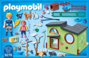 Playmobil 9276 - Neuheit 2018 - Katzenpension Inhalt