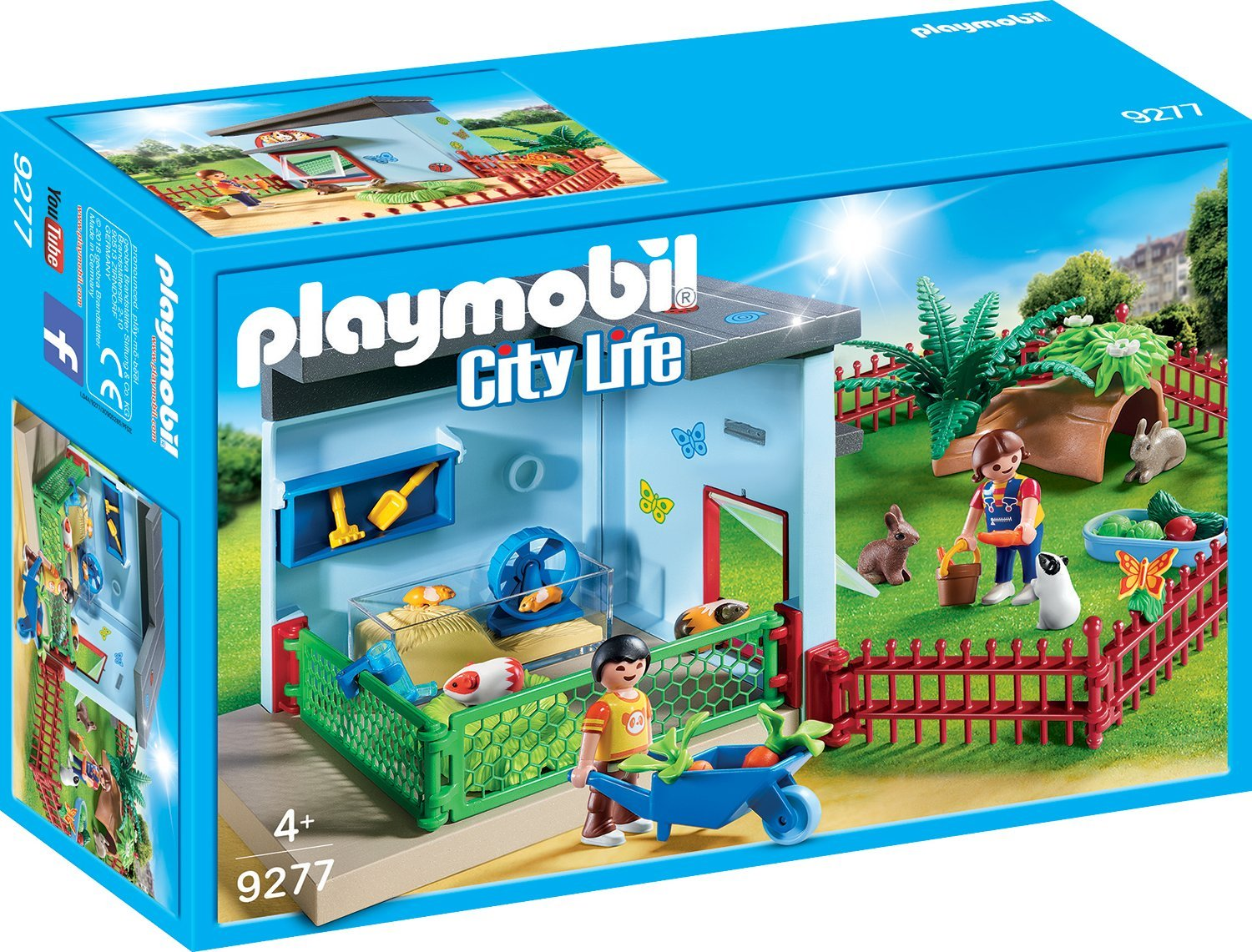 Playmobil 9277 Kleintierpension - Neuheiten 2018