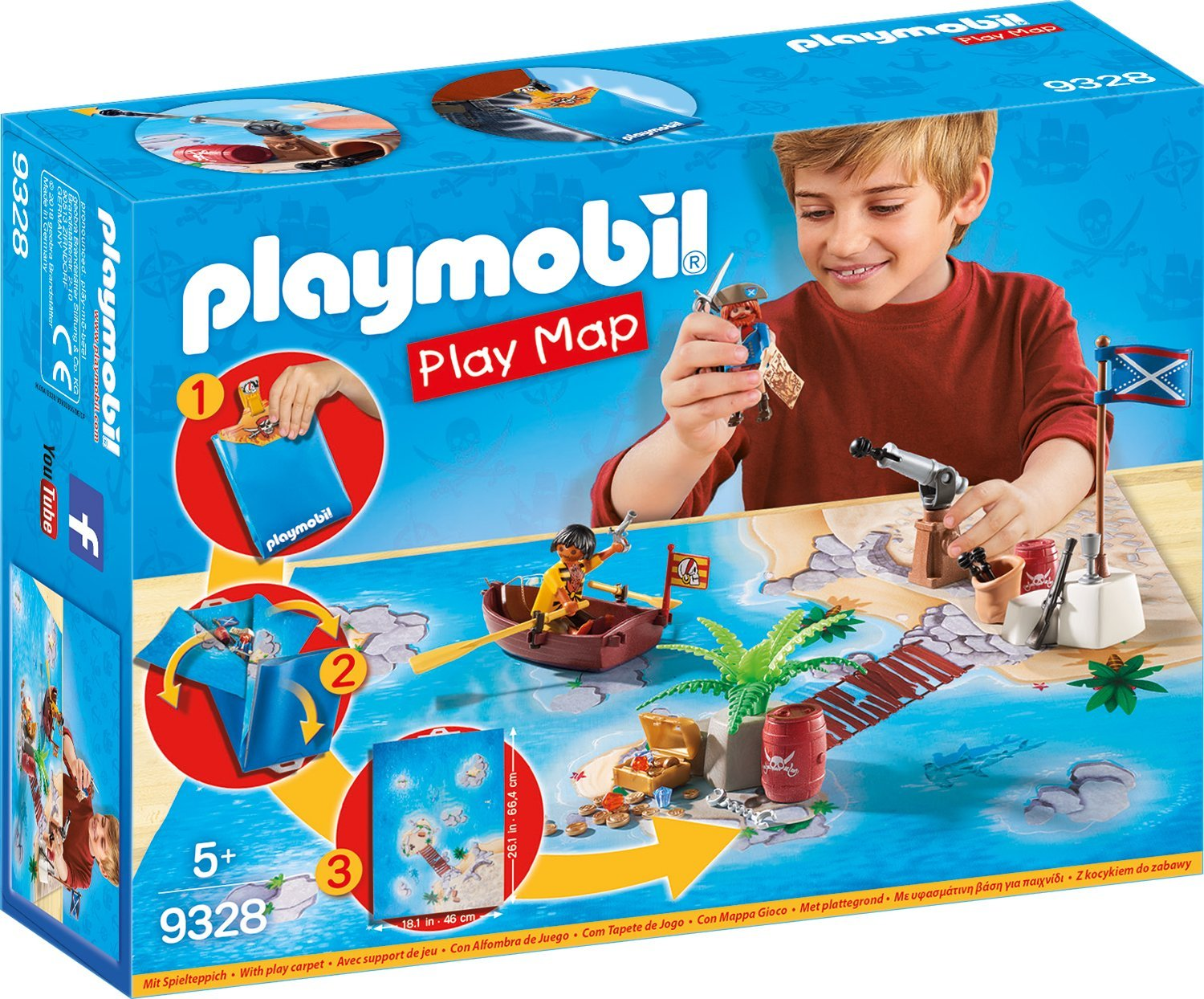 Playmobil 9328 - Playmap Piraten