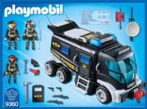 Playmobil 9360 SEK-Truck mit Licht und Sound Inhalt
