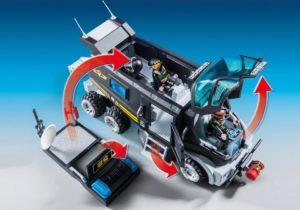Playmobil 9360 SEK-Truck Funktionen