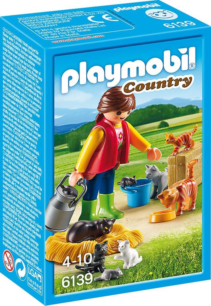 playmobil 6139  6 unwiderstehliche katzen und 2 mäuse zur