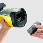 Kärcher Fenstersauger WV 5 Premium wechselbarer Akku