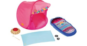 BABY born® Puppenzubehör Play&Fun Camping Set mit Zelt
