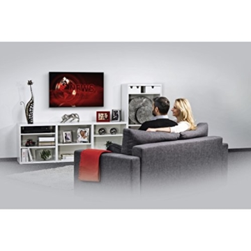 hama tv wandhalterung ultraslim 32 56 zoll wei testsieger. Black Bedroom Furniture Sets. Home Design Ideas