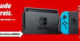 Mediamarkt Nintendo Switch Konsole Tiefpreis