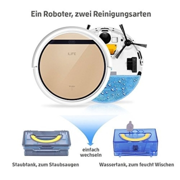 ILIFE Robot V5s Pro Saugroboter mit Wischfunktion