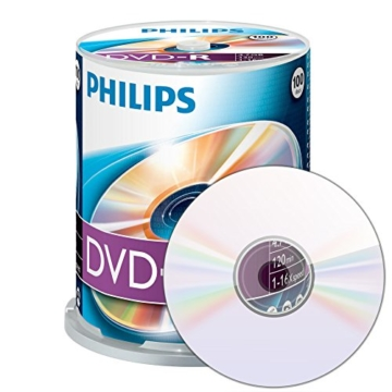 Philips DVD-R Rohlinge 100er Spindel