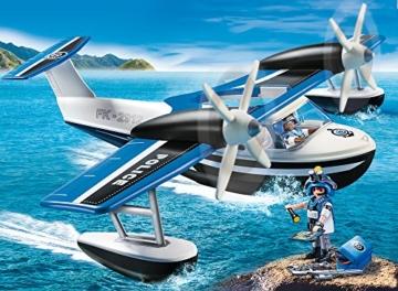 PLAYMOBIL 9436 - Polizei-Wasserflugzeug