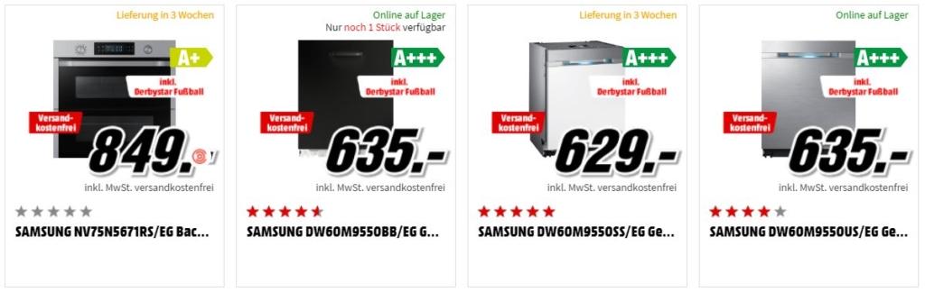 Derbystar Spielball Bundesliga 2018 gratis Kochen und Spülmaschinen