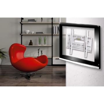 Hama TV-Wandhalterung Ultraslim 19-37 Zoll weiß