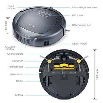 InLife ZK8077 Staubsauger Roboter