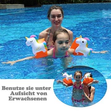 Schwimmhilfe mit Einhorn bis 25kg