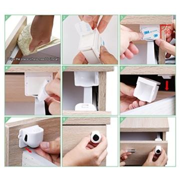 LeaderPro Kindersicherung Schrank Magnet