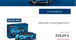 Lego Technic Angebote im Real Prospekt