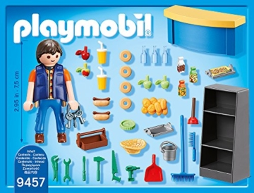 PLAYMOBIL 9457 - Hausmeister mit Kiosk