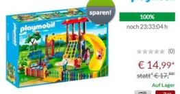 Playmobil 5568 Spielplatz Angebot mit Rabatt