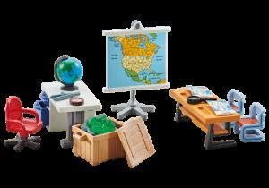 Playmobil 9810 Erweiterung Schule Erdkundeunterricht