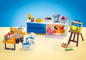 Playmobil 9811 Erweiterung Schule Kunstunterricht