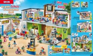 Playmobil Schule neu Juli 2018