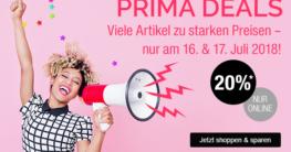 Prima Deals - Rabatt bei Galeria Kaufhof