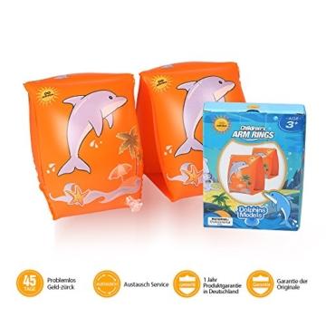 infinitoo Schwimmflügel Kinder 15-30kg