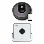 iRobot Roomba 960 Saugroboter + Braava 390t Wischroboter Bundle