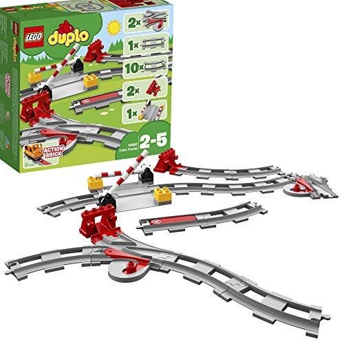 Lego 10882 - baue mit 23 zusätzlichen Teilen einfach eine größere Duplo Eisenbahn zusammen