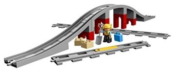 LEGODuplo 10872 Eisenbahnbrücke und Schienen