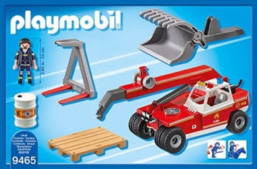 PLAYMOBIL 9465 - Feuerwehr-Teleskoplader
