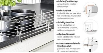 Reer 20020 Edelstahl Herdschutzgitter - 4