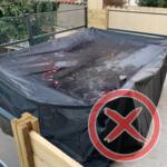 Schutzhülle für Gartenmöbel richtig anbringen