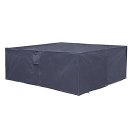 SONGMICS Schutzhülle für Gartenmöbel 200 x 160 x 70 cm
