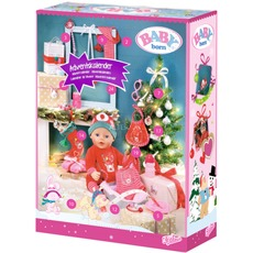 ZAPF Creation Zapf BABY born  Adventskalender  Puppenzubehoer
