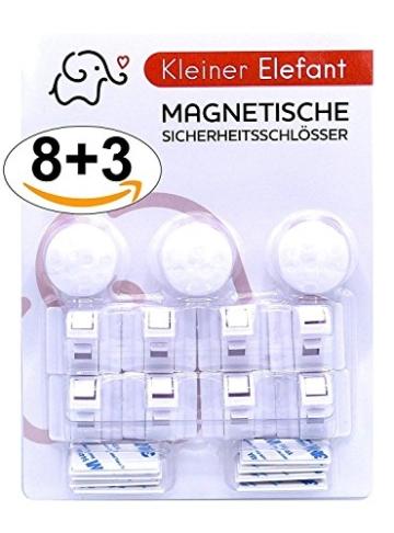 Kleiner Elefant 8+3 magnetisches Schrankschloss